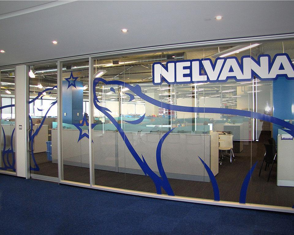 Corporate Branding Using 3M Graphic Window Films - example 4