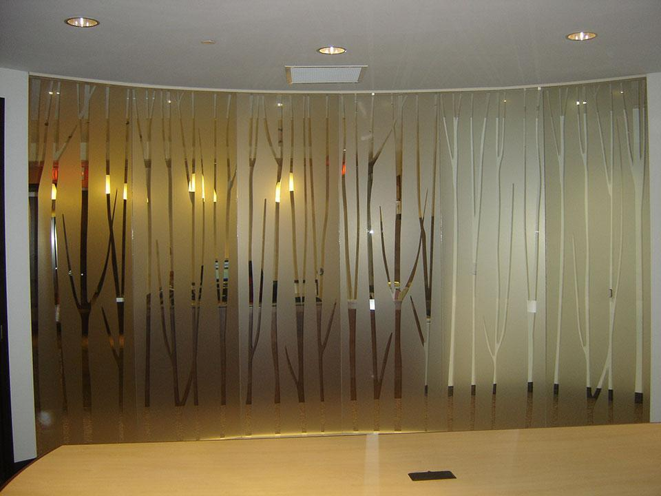 Decorative Solutions Using 3M Graphic Window Films - example 3