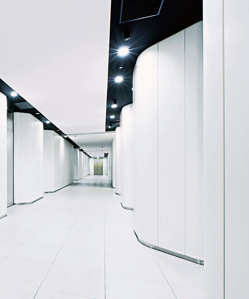 Di-NOC Architectural Finishes - high traffic white